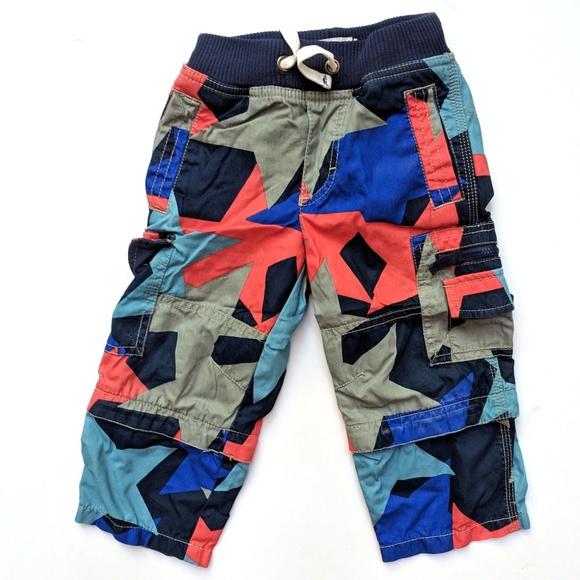 e9f9a65ab Mini Boden Bottoms | Boys Blue Red Star Zip Off Pants 2 | Poshmark